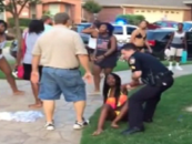 Racist Texas Cops Beat Black Teens & Point Guns At Them For Being At An All White Pool Party! (Video)