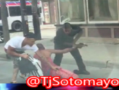 2Black Thugs Beat & Rob A Cleveland Man At Gunpoint For Shoes & Cellphone In Broad Daylight Caught On Video! (Video)