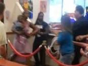 2 Black Chicks Ruin Their Kids Disney World Experience By Poundcaking A Snowbird! (Video)