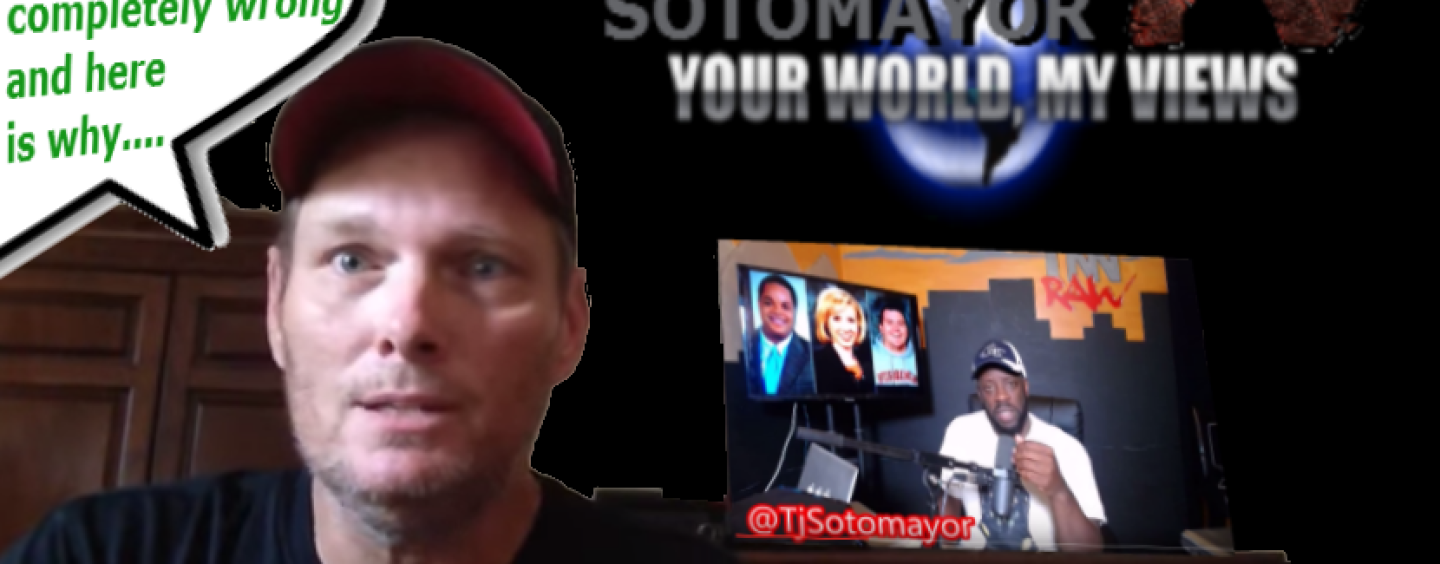 "MRA White Guy Gene Says ""Tommy Sotomayor Is Completely Wrong"" & Here's Why! (VIDEO)"