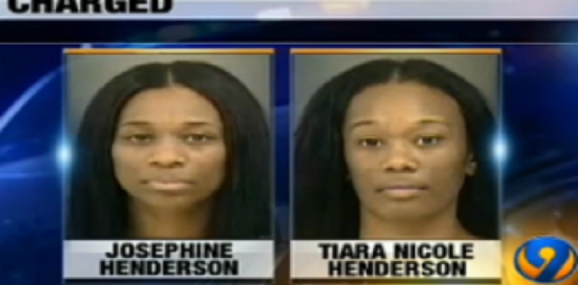 2 Cyberdine Sisters Of Charlotte Arrested For Poundcaking Their Kids School Bus Driver! (Video)