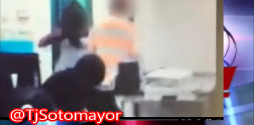 BT-1000 DSE Beats Up A Teacher After Being Asked To Put Up Her Cell Phone! (Video)