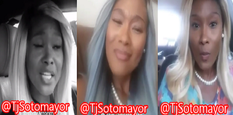 The Best Example Of The Average American Black Woman AKA A Hair Hatted Hooligan! (Video)
