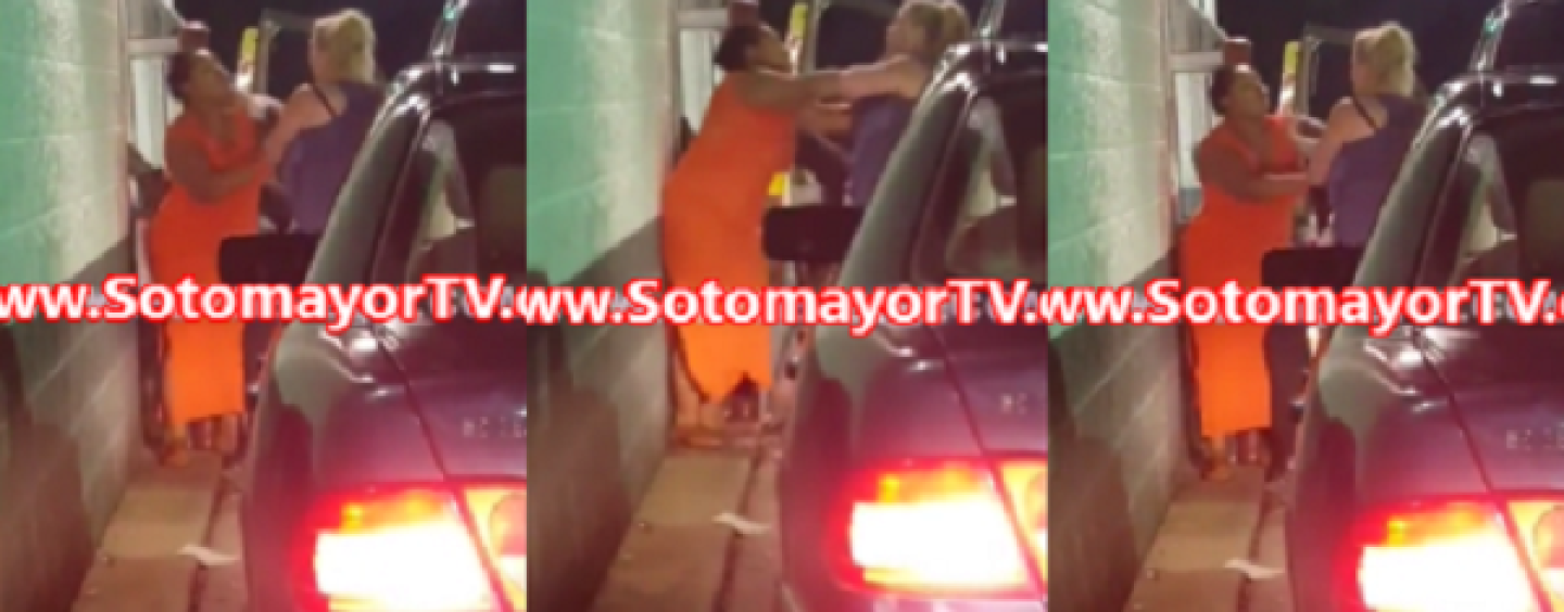 2 White Beast, 1 Black Have A PoundCake Royal In McDonald's Drive Thru Over Slow Service! (Video)