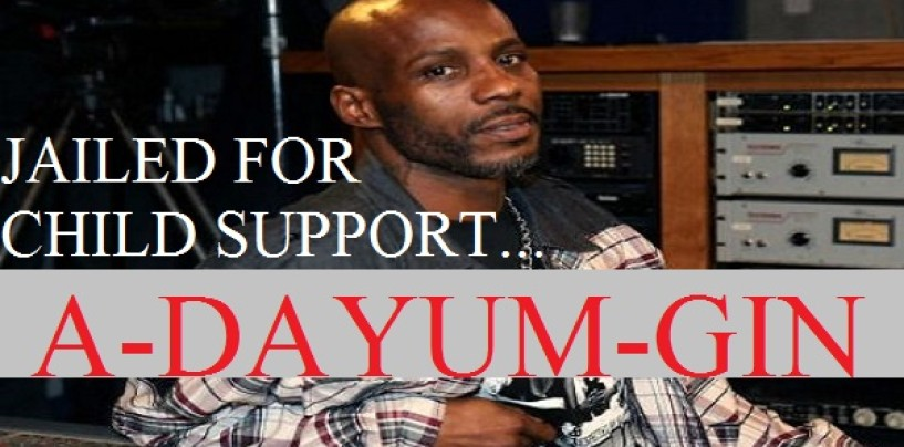Rapper DMX Arrested A-Dayum-Gin, The 2nd Time In 2 Months For The Same Charge…Child Support! Check The Amount! (Video)