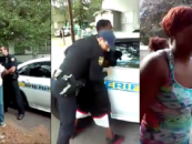 White Cops Forced To Arrest Damn Near An Entire Block Of Unruly Blacks From The Elderly To The Kids! (Video)