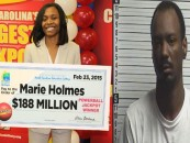 188 Million Dollar Lotto Winner & Mother Of 4 Bonds Her Thug Boyfriend Out Of Jail For The 3rd Time! (Video)