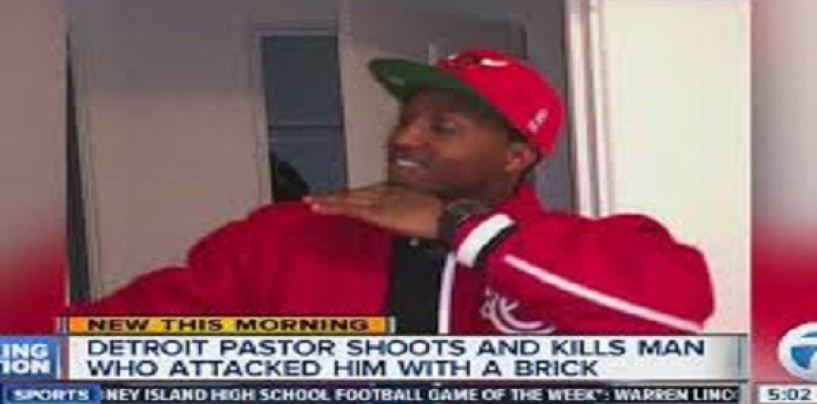 Detroit Pastor Shoots & Kills Member At Church Service After F*ckin' The Mans Wife! (Video)