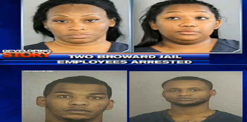 2 Female Florida Officers Arrested For SexingUp 2 Thug Inmates In The Jail! Black Queens (Video)