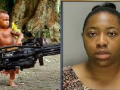 40 Year Old GrandBeastie Shot In The Back By Her 2 Year Old GrandSon! #IShitUNot (Video)