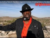 Take Pride In Finding Flaws In The Mans Argument Instead of Finding Flaws In The Man! (Video)