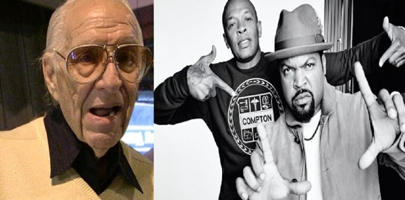 Ex-NWA Manager Jerry Heller Sues Dr. Dre, Ice Cube & Everyone Associated With Straight Outta Compton Movie! (Video)