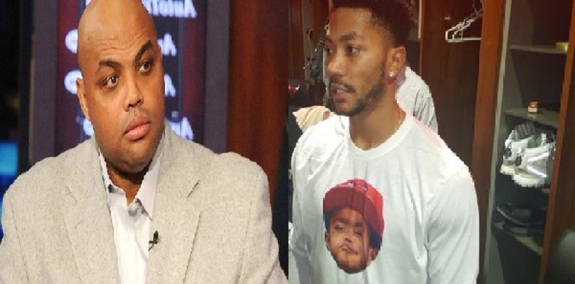 Charles Barkley Goes In On Derrick Rose's Nappy Hair Along With Blacks Around The World Just Like Don Imus! (Video)