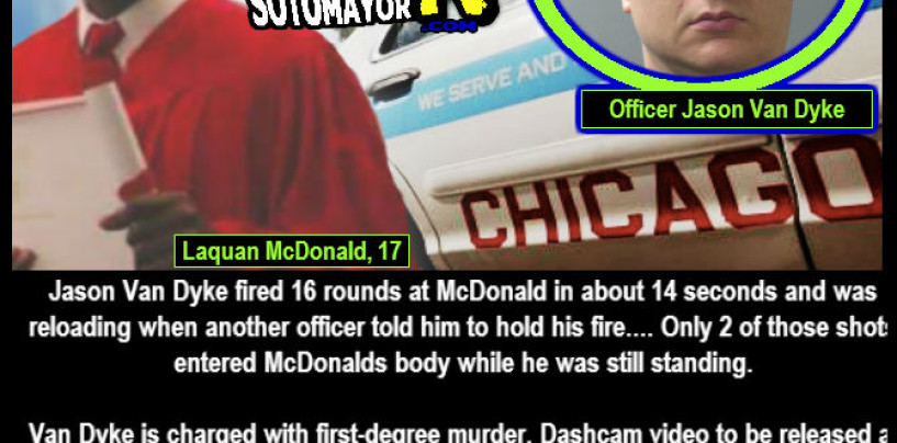White Chicago Cop Accused of Murder, 'Reloaded' And Kill Black Teen As He Walked Away!