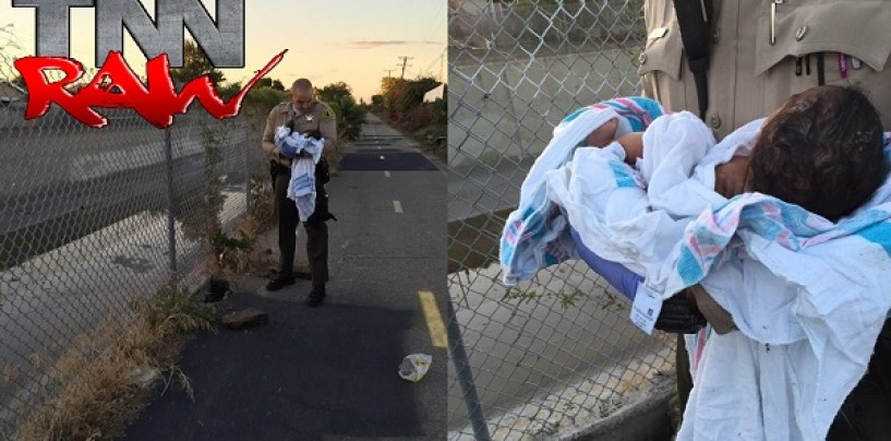 Black Queen Abandons Newborn Baby In A Hole Under A Pile Of Trash Is Saved By Racist White Cop! (Video)