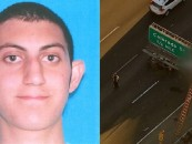 Young Snow JackAzz-O-Lantern Thrown From His Car Onto A Freeway Sign During Car Accident! (Video)