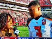 NFL QB Jameis Winston Mistakes Fox Pam Oliver For Being A Man On Live TV! Hilarious (Video)