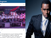 P-Diddy Attacked By Jealous Insecure Black Chicks Over Beautiful Snow-Covered Instagram Photo! (Video)