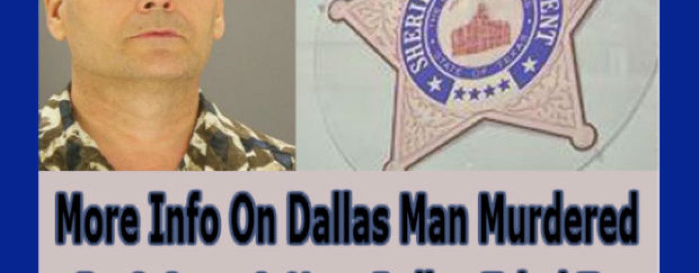 More Info On Dallas Man Murdered By 8 Cops & How Police Tried To Cover It Up! (VIDEO)