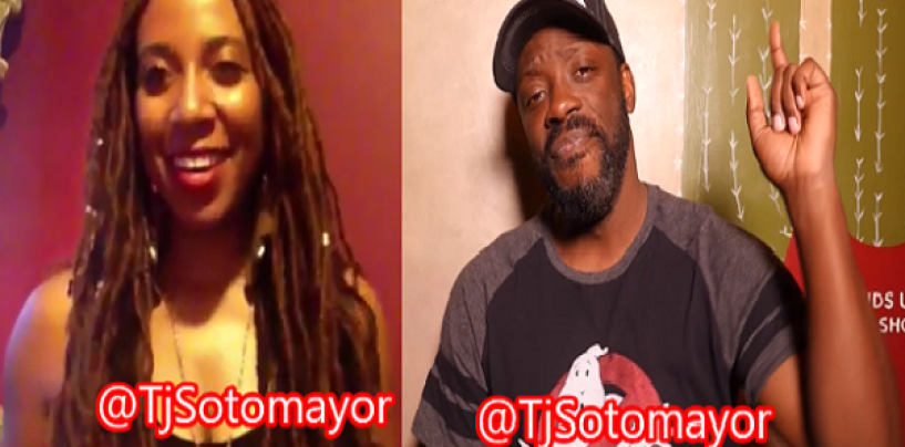 Hotep Ho Says She Almost Conquered Tommy Sotomayor & Gets Ethered! (Video)