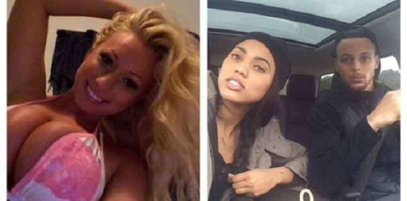Bucked-Tooth Fatty McWhite-Whore Jenna Shea Tells Steph Curry's Wife That He's Gonna Cheat On Her Sooner Or Later! (Video)