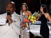 How Racist Tweets & Miss Universe Has Steve Harvey Gaffing All The Way To The Bank! (Video)