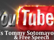 Youtube, White Liberals & Pro Blacks Wage War On Tommy Sotomayor's Channels! (Video)