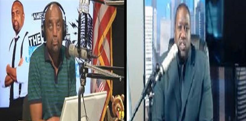 Jesse Lee Peterson Destroys Mr Swole Fat Phil Advise In A Battle Of Slow Wits & Bad Lisps! (Video)