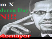 Malcolm X Coonin' For Whites By Telling Blacks To Stop Begging Whites For Handouts & Freebies! (Video)