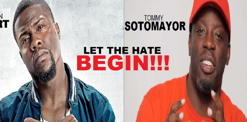 Comedian Kevin Hart & Tommy Sotomayor Are Gay-Coons Doing Sexual Favors To White Men For Money! (Video)