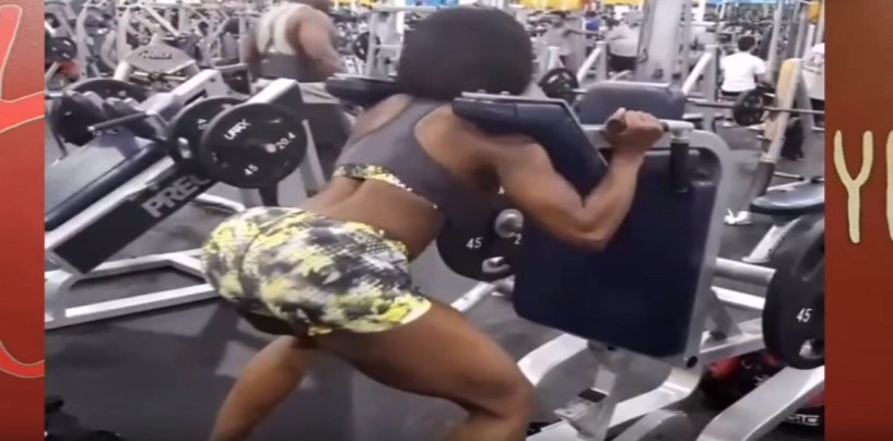 The Greatest Female Squat Fitness Video Of All Time Featuring Tarnisha