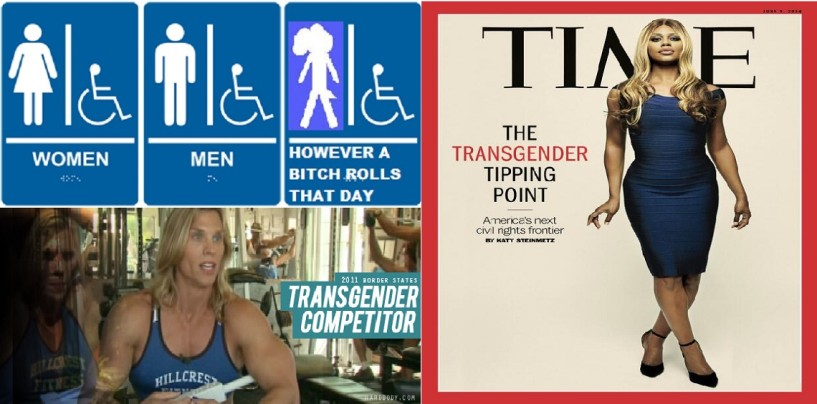 Are You OK With Transgenders Choosing Which Toilets They Use Based On How They Feel That Day? (Video)