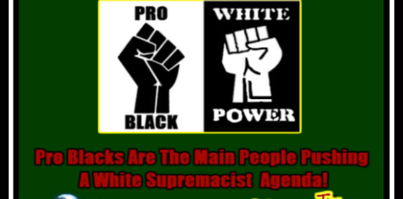 5/22/2016- Pro Blacks Are The Main People Pushing A White Supremacist Agenda! 9pm-2am EST Call In 347-989-8310