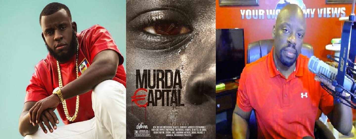 Kwame Gates On The News On-Air Fight, Black Crime & His Documentary 'Murda Capital'