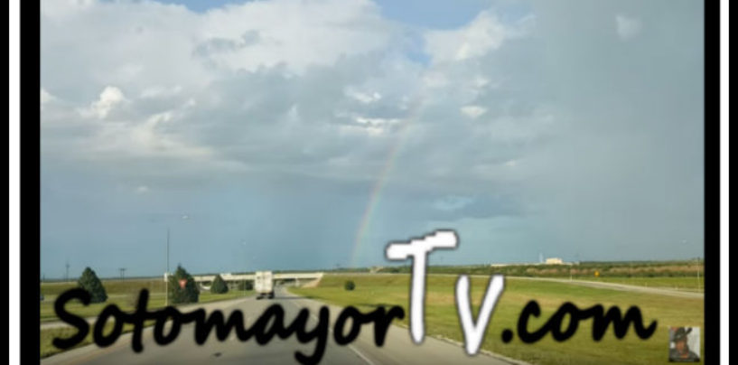 The Most Beautiful Rainbow! Witnessed & Narrated By Tommy Sotomayor! (Video)