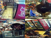 Black Snack Pack Thrower Destroys Gas Station After Being Caught Stealing $11 Worth Of Candy! (Video)