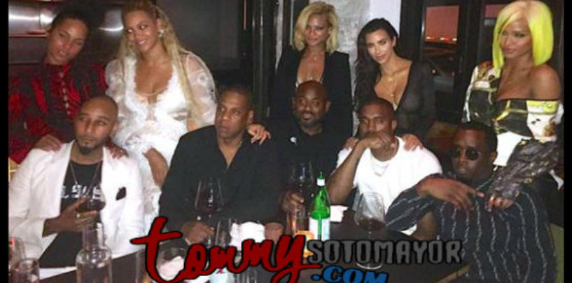 """Jay-Z, Diddy, Kanye And Swizz…. """"Hip- Hops Royalty"""" Are Definitely #GOALS! (Video)"""