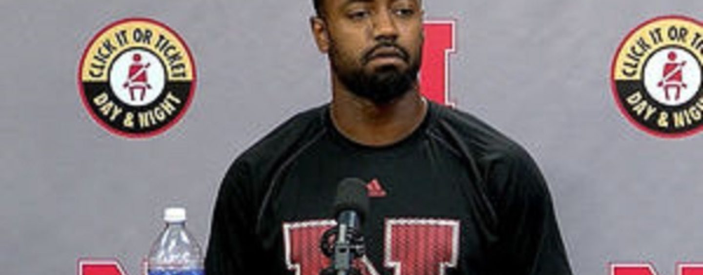 Nebraska Football Player Kneels Down During The National Anthem & Gets Death Threats From Whites! (Video)