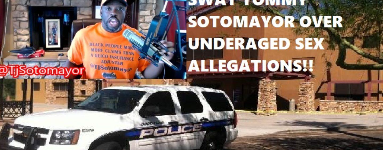 AZ Police Visit Tommy Sotomayor Investigating Incest, Molestation & Statutory Rape Allegations! (Video)
