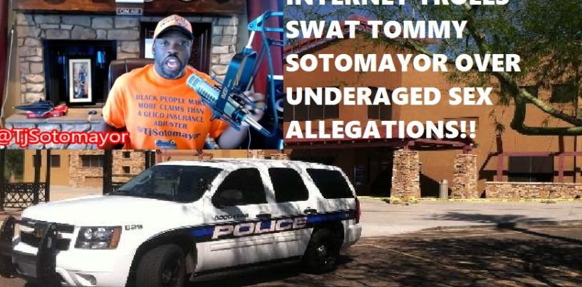 AZ Police Visit Tommy Sotomayor Investigating Incest, Molestation & Statutory Rape Allegations! (Video)