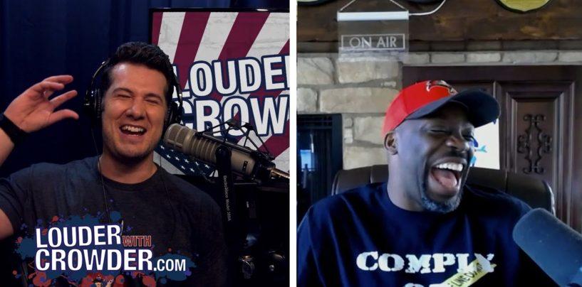 Tommy Sotomayor Vs Steven Crowder Over Racism, Black Violence & Charlotte Riots! (Video)