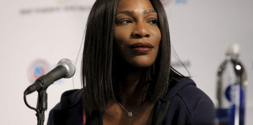 Serena Williams Comes Out Against Police And In Favor Of Black Lives Matter! (Video)