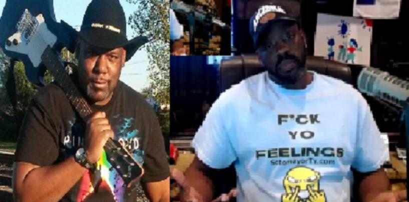 Black Activist Says Tommy Sotomayor Is A Super Coon & Confronts Him Live! (Video)