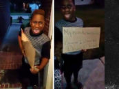 Black Mom Kicks 8 Year Old Son Out Of Home Because He Voted For Trump At School! (Video)