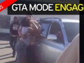 Black Chicks Use Real Cars To Play Bumper Cars With After Beatdown Over A Man! (Video)
