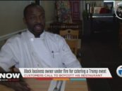 Niggaz Demand Boycott Of Black Chef Who Had The Nerve To Serve Donald Trump Jr! (Video) #IShitUNot