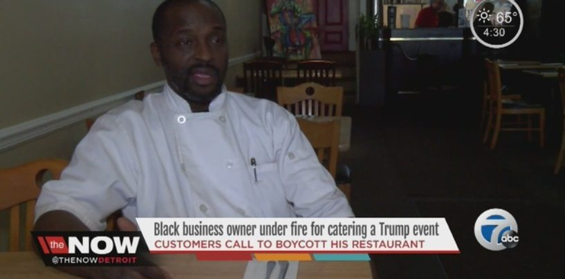 Niggaz Demand Boycott Of Black Chef Who Had The Nerve To Serve Donald Trump Jr! (Video) #IShitUNot