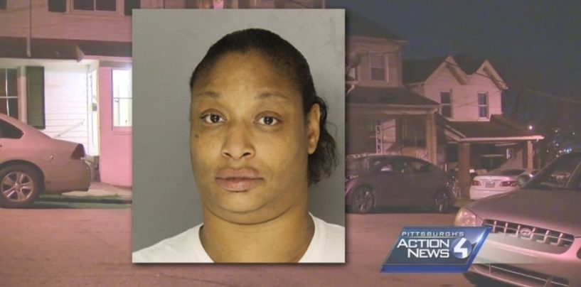 Black Queen Mother Arrested For Forcing Her 5 Year Old Son To Smoke Crack! #IShitUNot (Video)