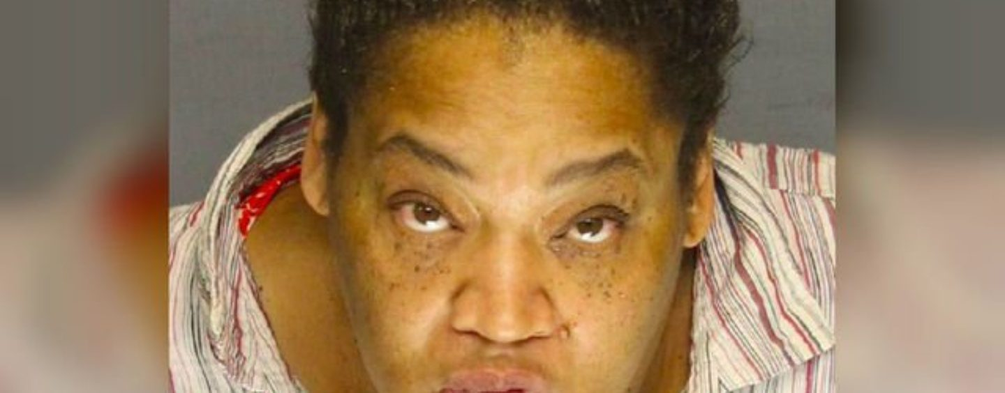 The Ugliest B!tch Possible Arrested For Throwing Hot Grease On Police Officers & Their K-9! (Video)