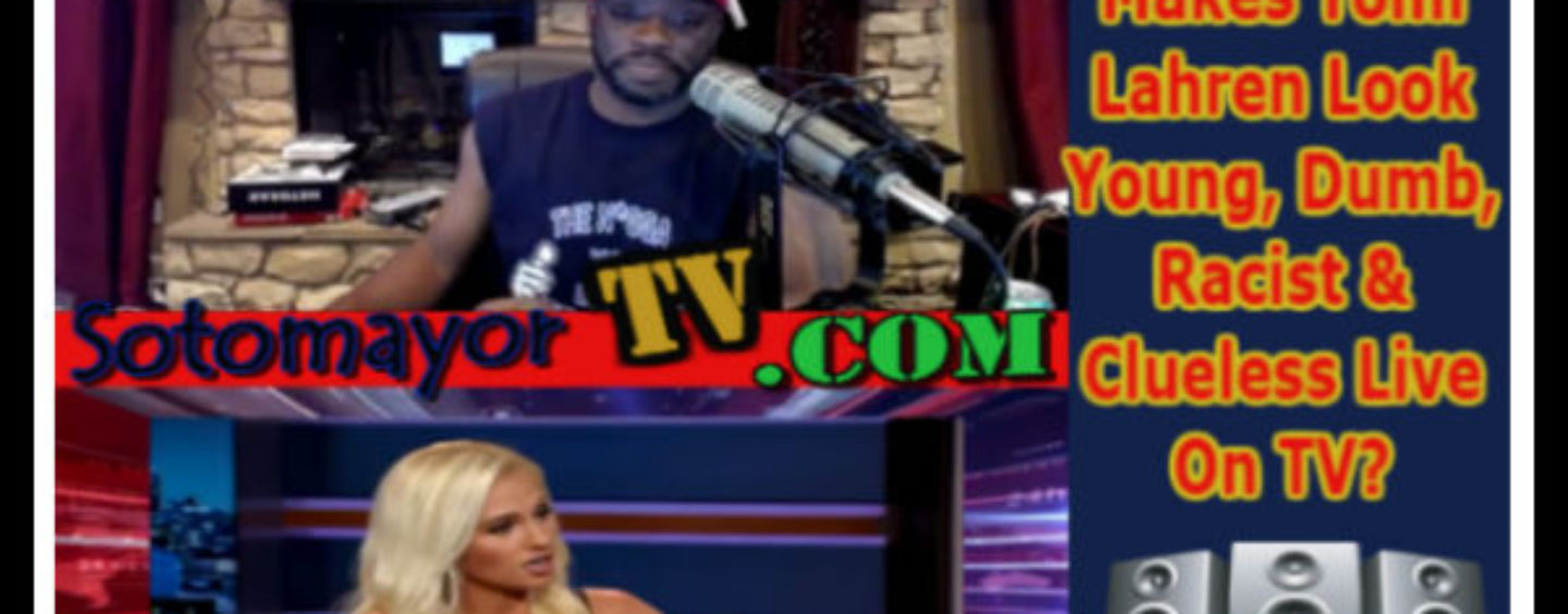 ON AIR: Trevor Noah Makes Tomi Lahren Look Young, Dumb, Racist & Clueless Live On TV? (Video)